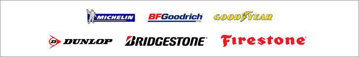 We proudly carry products from Michelin®, BFGoodrich®, Goodyear, Dunlop, Bridgestone, and Firestone.