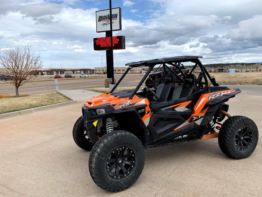 2016 Polaris Industries RZR XP® Turbo EPS - Spectra Orange