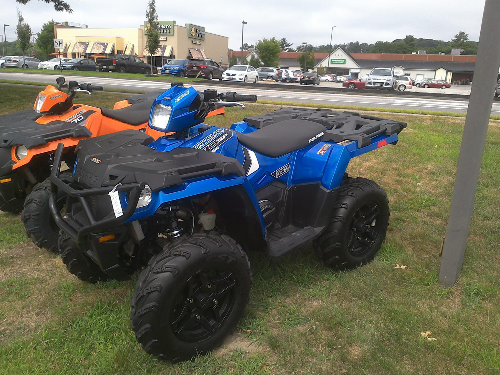2018 polaris industries sportsman� 570 sp - radar blue