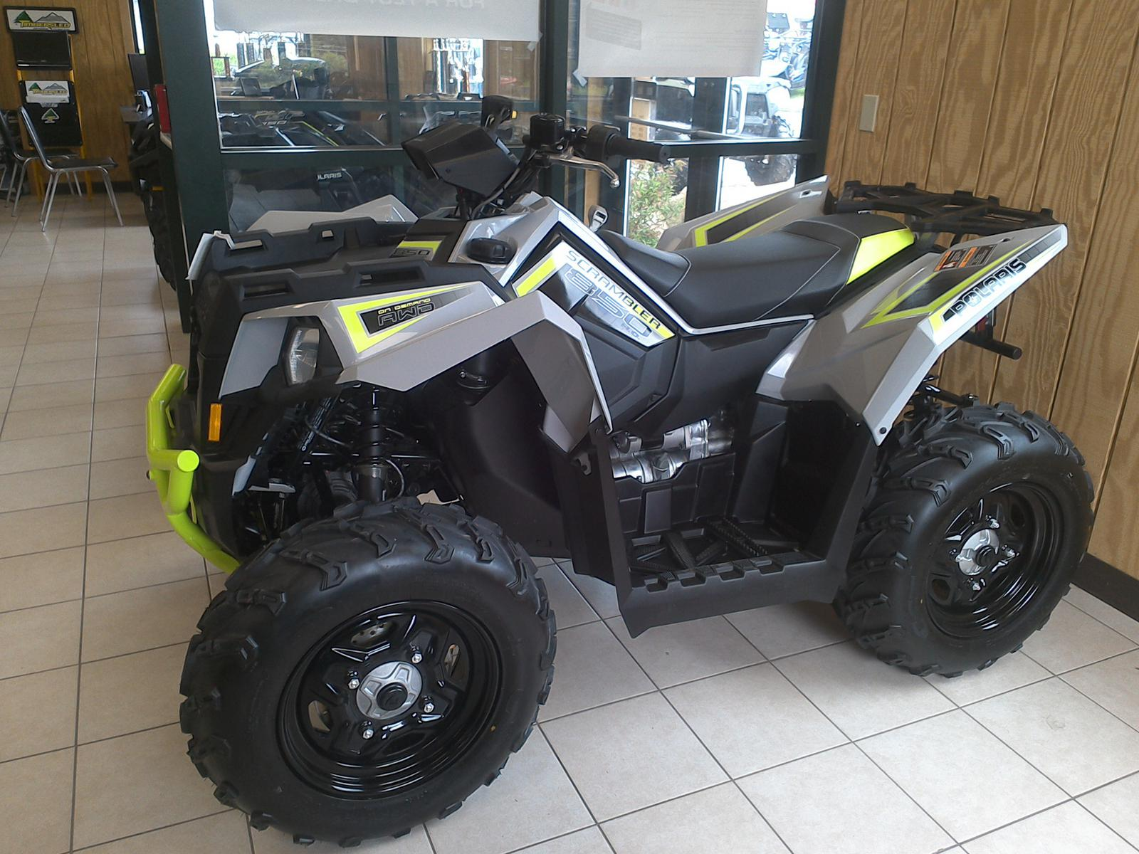 2019 polaris industries scrambler� 850 - ghost gray