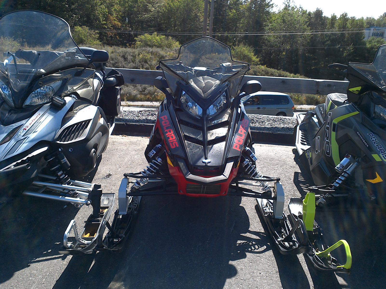 2012 polaris industries 800 rush pro-r - electric start