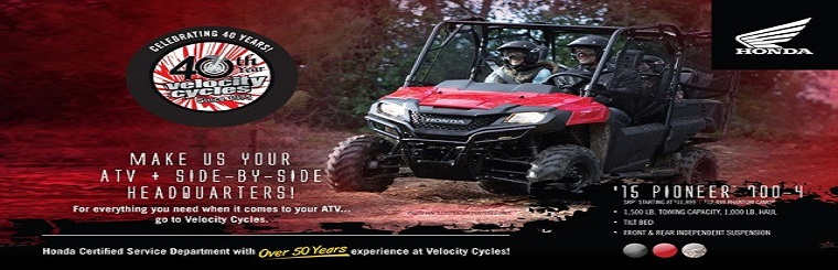 Velocity Cycles 40th Anniversary ATV Promo