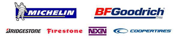 We proudly offer products from: Michelin®, BFGoodrich®, Bridgestone, Firestone, Nexen, and Cooper.