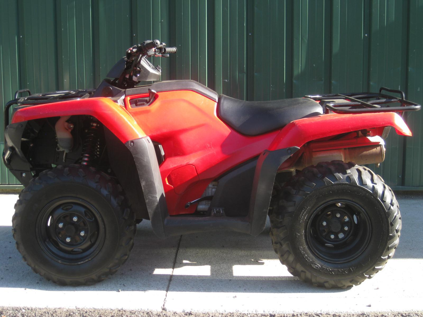 Honda 420 Rancher >> 2016 Honda Rancher 420 Stock 4x4 With Bumpers Very Clean Turn Key Must See Priced To Sell
