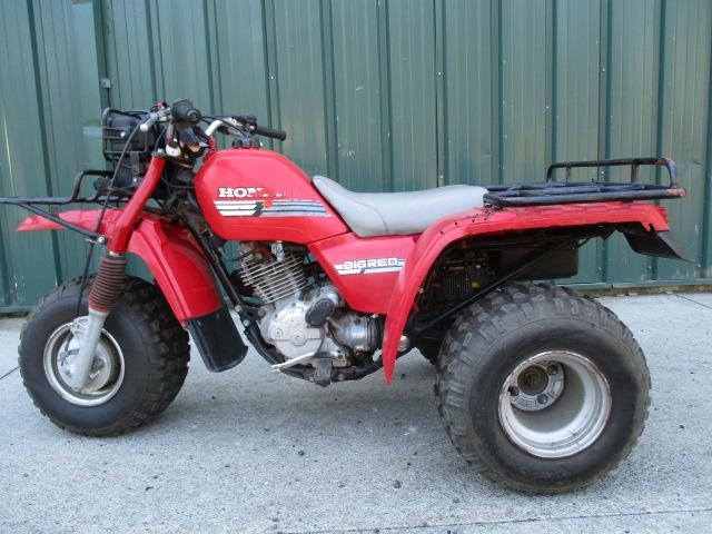 1985 Honda Big Red 250es 3 Wheeler Very Clean Turn Key Runs Great Rhsuperflymotorsports: Fuel Filter For Honda 250 Big Red At Elf-jo.com