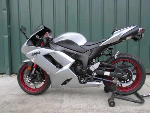 2007 Kawasaki Ninja Zx6r Clean With Extras For Sale In Thomaston