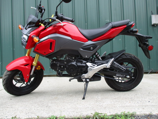 2017 Honda Grom 125 Red And Black All Stock Very Clean For Sale In