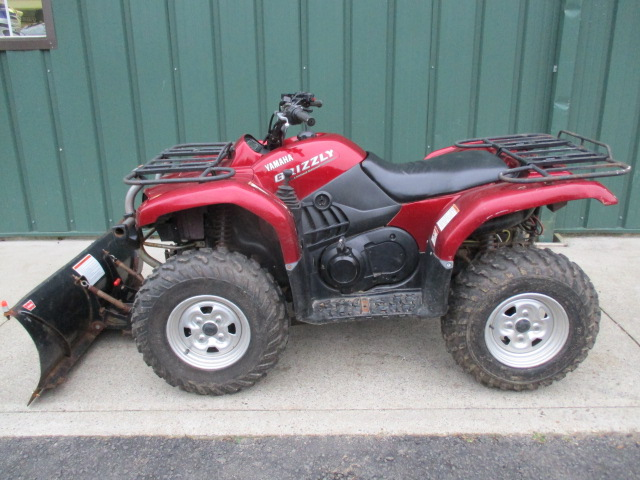 Yamaha Grizzly 660 >> 2004 Yamaha Yamaha Grizzly 660 Limited Edition With Winch And Plow