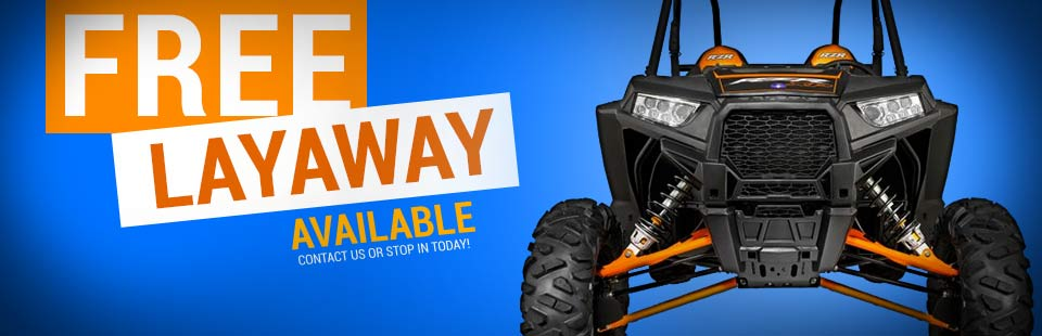 Free Layaway Available: Contact us or stop in today!