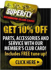 Get 10% Off Parts, Accessories, and Service with out Member's Club Card!