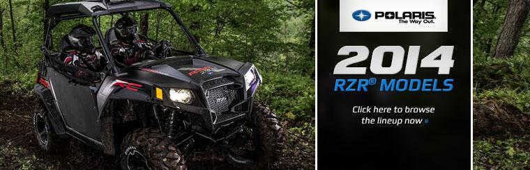 Click here to view the 2014 Polaris RZR model lineup.