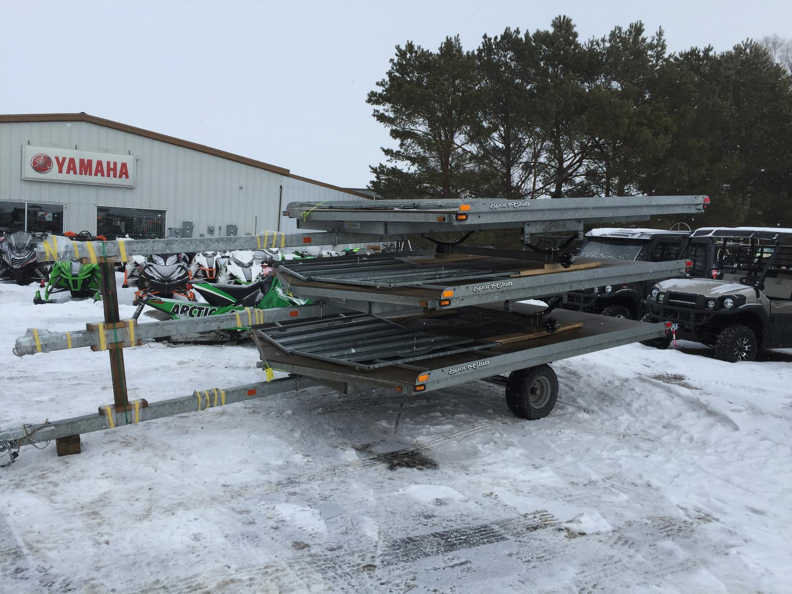 Yacht Club Snowmobile Trailers Trailer Wiring Diagram Drive On Off 1600x1200