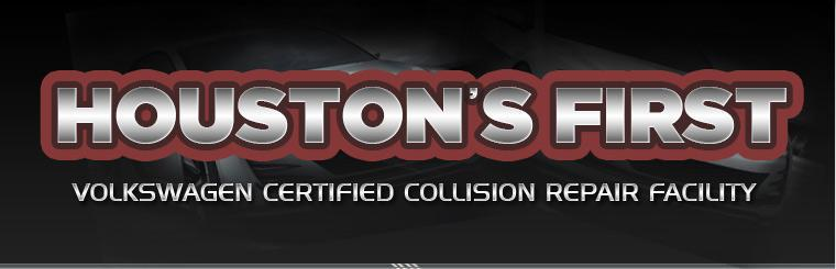 We were Houston's first Volkswagen certified collision repair facility! Click here to contact us.