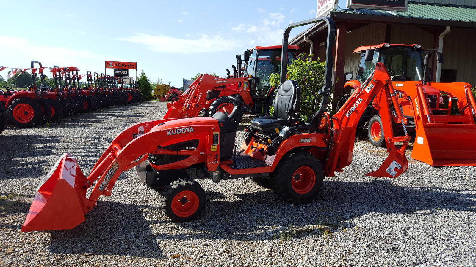 Kubota tractors for sale in kentucky - 2017 Kubota Bx25d 1 For Sale In Hickory Ky Horizon Lawn And Tractor 270 856 4355