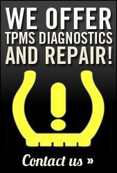 We offer TPMS diagnostics and repair! Contact us.
