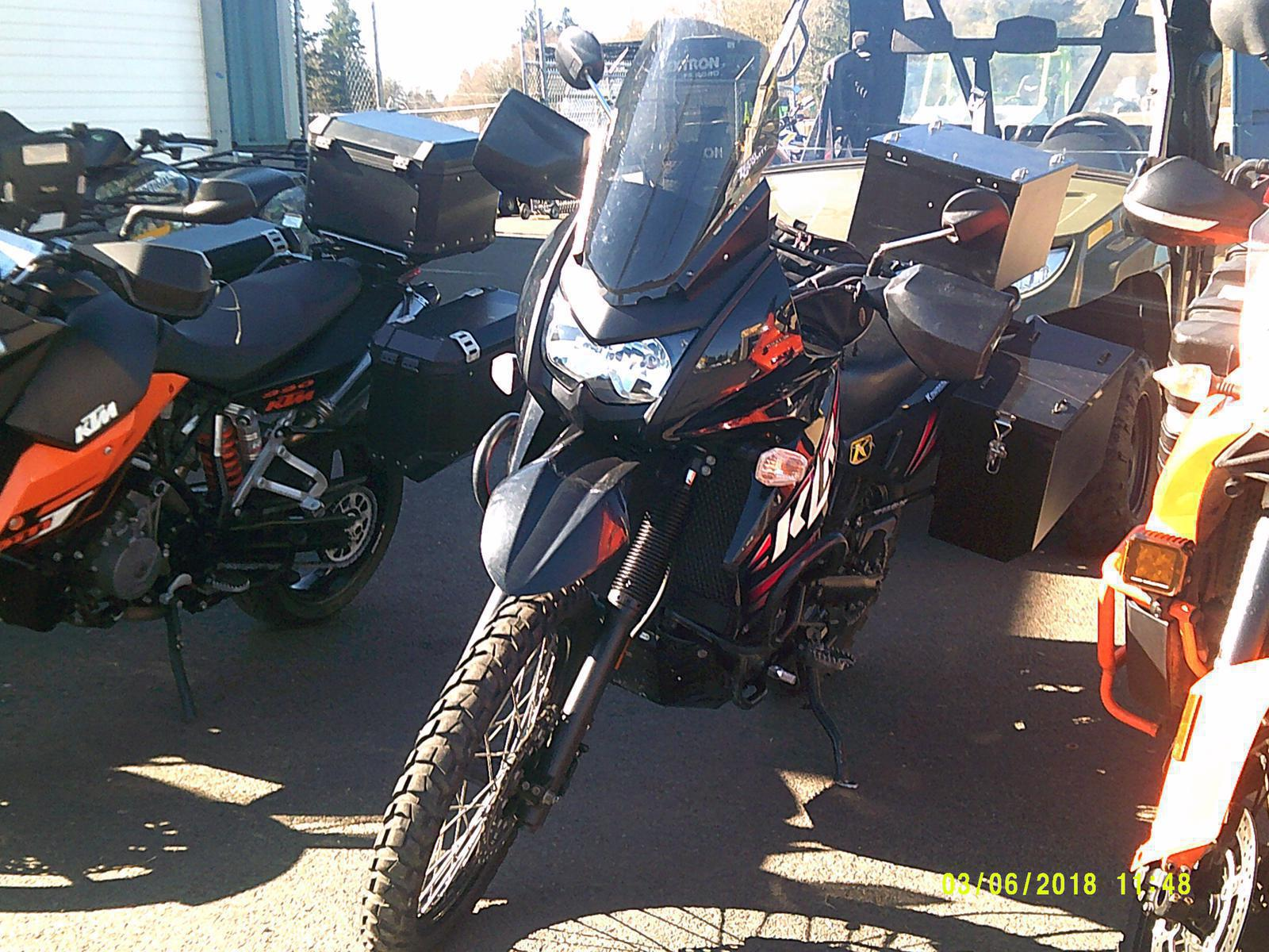 2013 Kawasaki KLR™ 650 for sale in Warrenton, OR | L & D RACE TECH ...