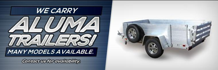 We carry Aluma Trailers! Contact us for availability.
