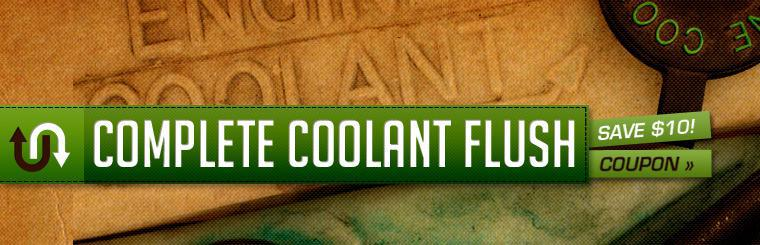 Save $10 On A Coolant Flush