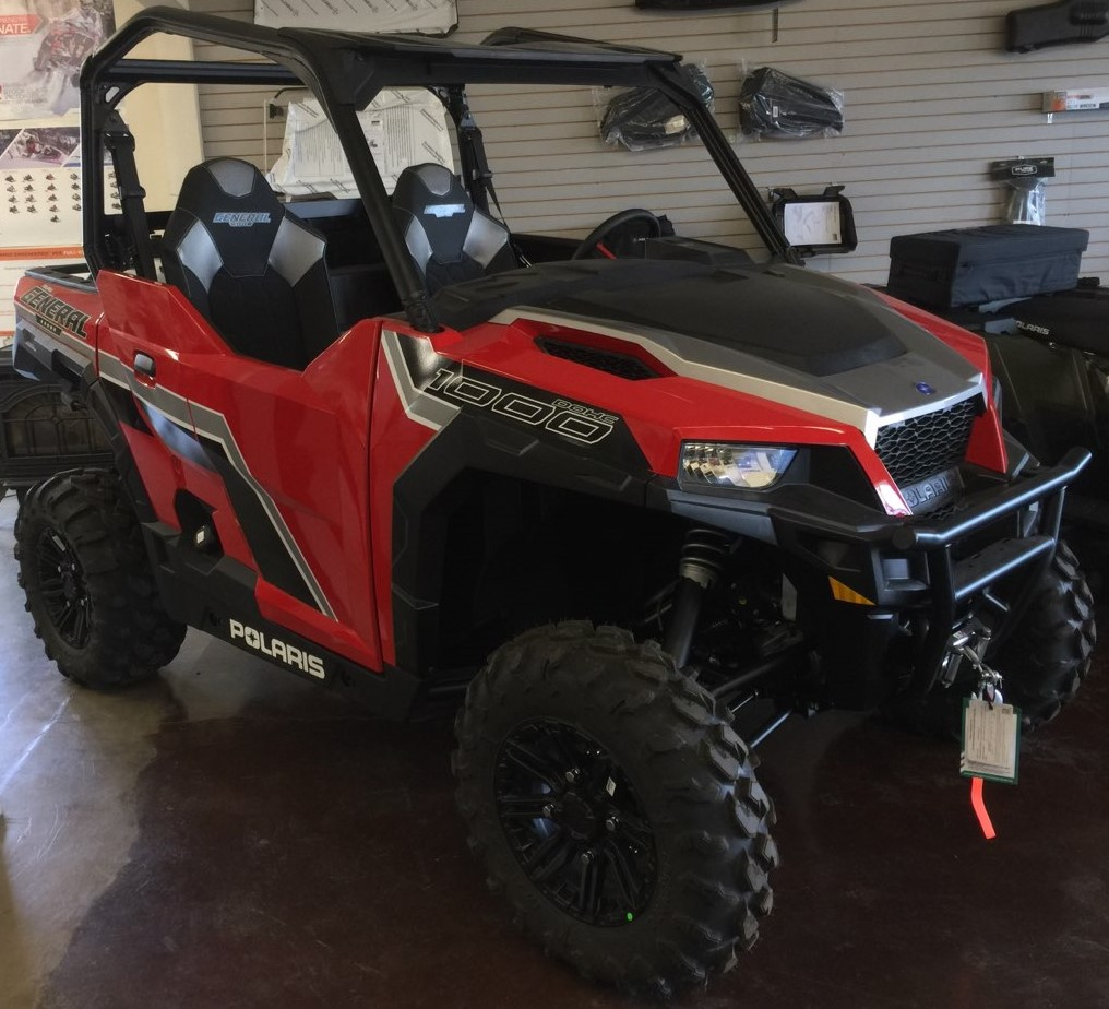 Polaris General 1000 >> 2019 Polaris Industries Polaris General 1000 Premium Havasu Red Pearl