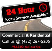 24 Hour Road Service Available