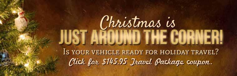 Christmas is just around the corner! Ready for holiday travel? Click for $145.95 Travel Package coupon.