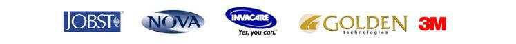 We proudly feature products from Jobst, Nova, Nova Ortho-Med, 3M, Golden Technologies, and Invacare.