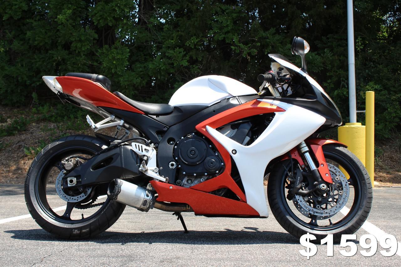 2006 Suzuki GSXR 600 for sale in Raleigh, NC | MotoMax (919) 872-7141