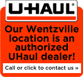 Our Wentzville location is an authorized UHaul dealer!