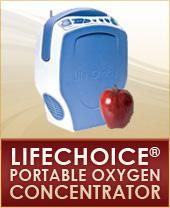 LifeChoice® Portable Oxygen Concentrator