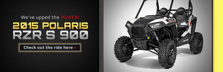 2015 Polaris RZR S 900: Click here to view the model.