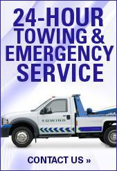 24 Hour Towing & Emergency Service.