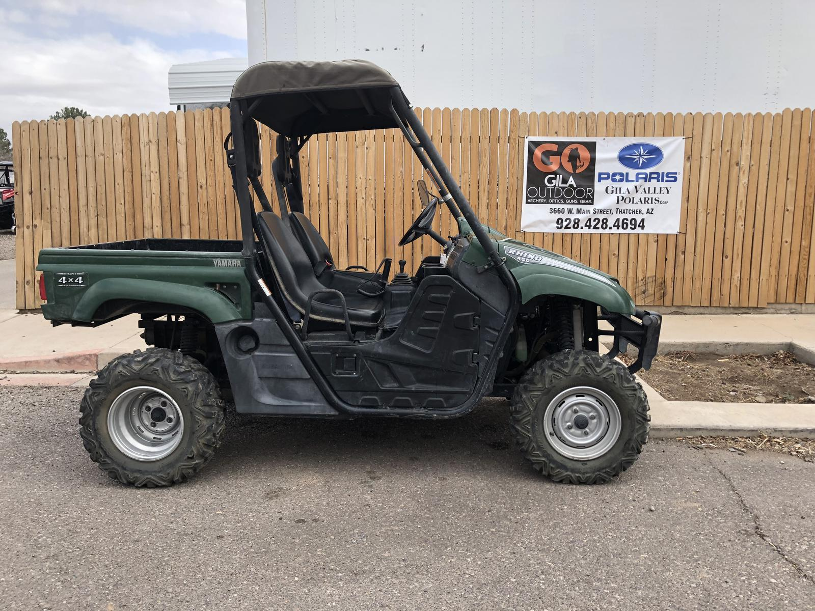 2007 Yamaha Rhino 450 Auto 4x4 for sale in Thatcher AZ Gila