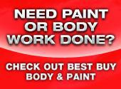 Need Paint or Body work Done?