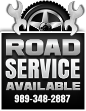Road Service Available. 989-348-2887.