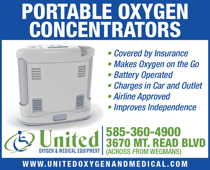Portable Oxygen Concentrators.