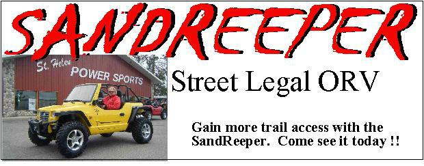 SandReeper - Street Legal ORV