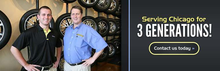 Suburban Tire has been serving Chicago for 3 generations!
