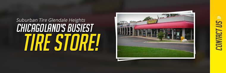 Suburban Tire Glendale Heights is Chicagoland's busiest tire store!