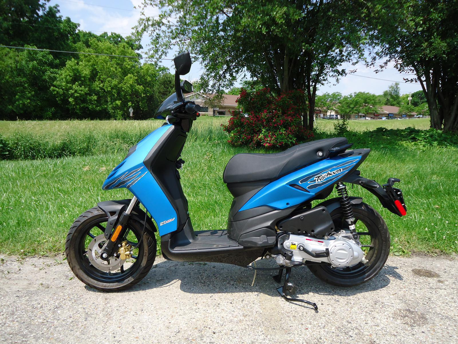 2014 piaggio typhoon moped for sale in lake geneva, wi | scoot
