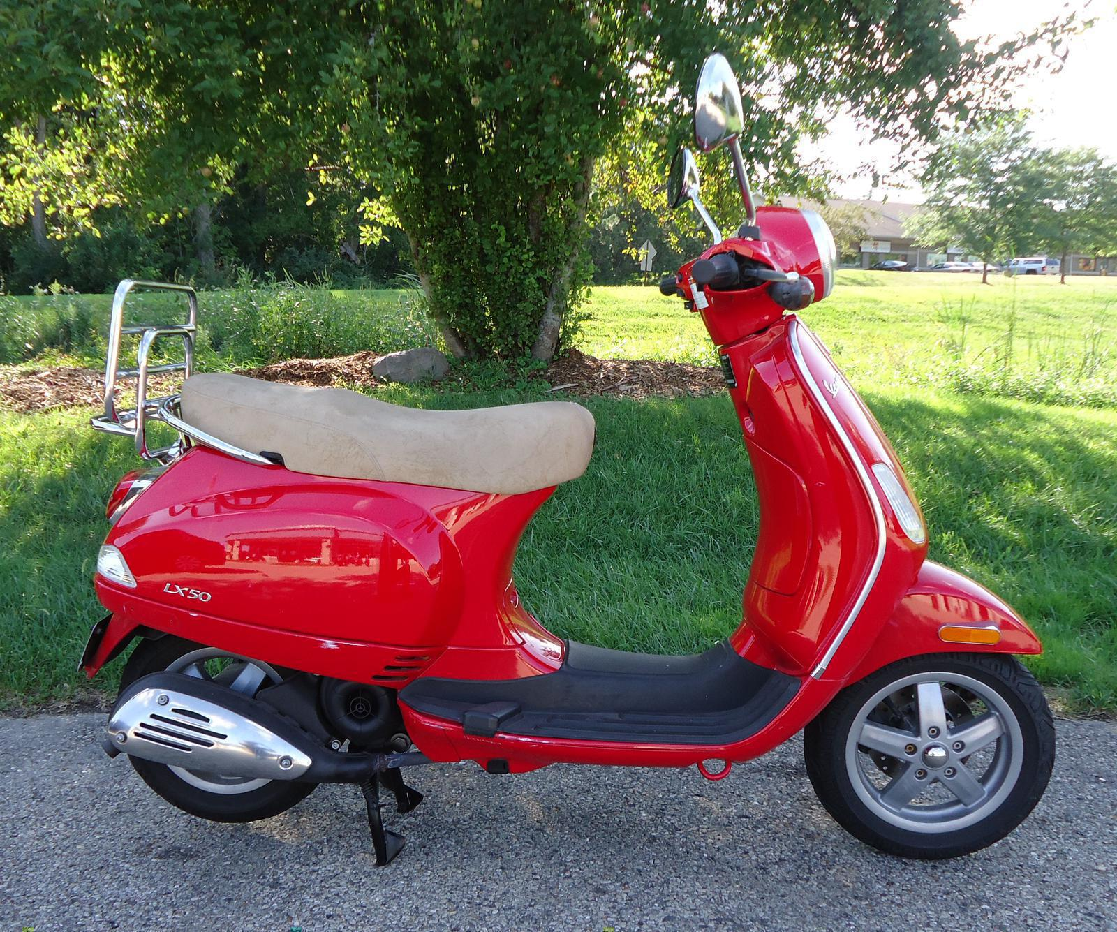 2009 Vespa Lx50 Scoot Jockeys