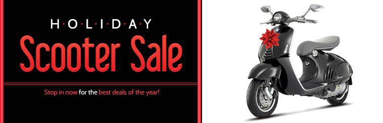 Holiday Scooter Sale: Stop in now for the best deals of the year!