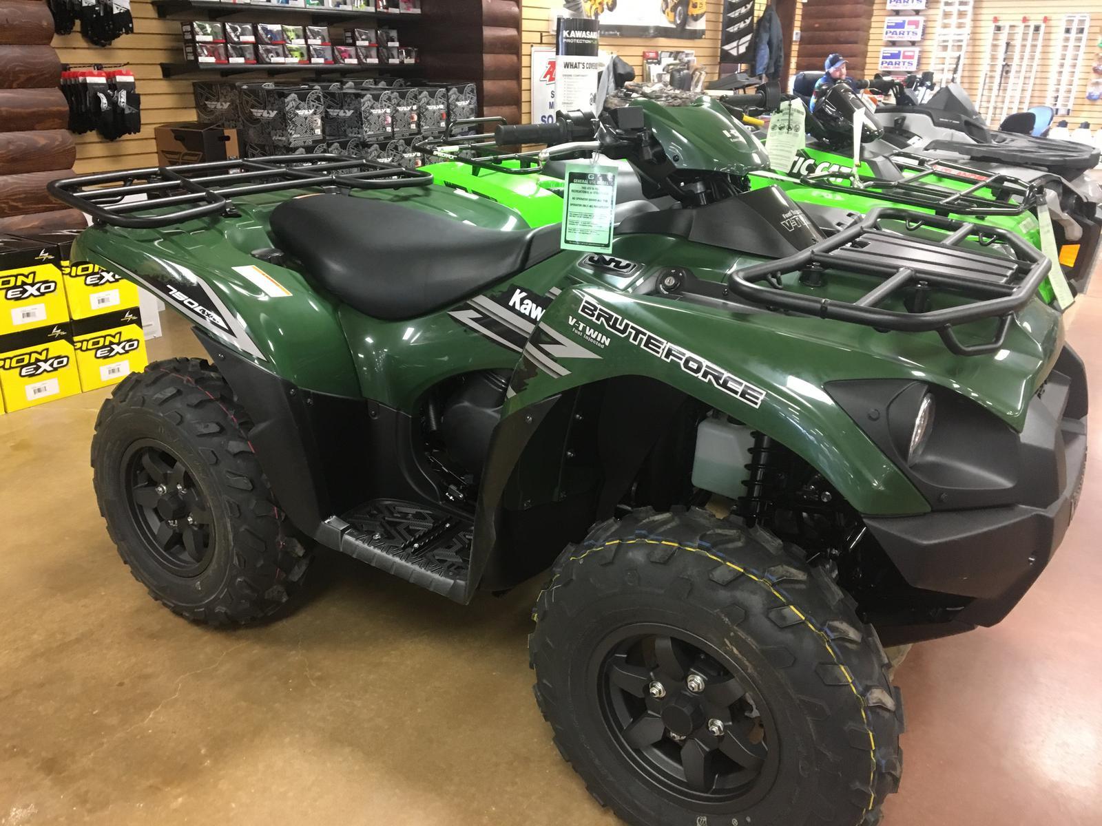 2018 Kawasaki Brute Force® 750 4x4i for sale in Bartlesville, OK.