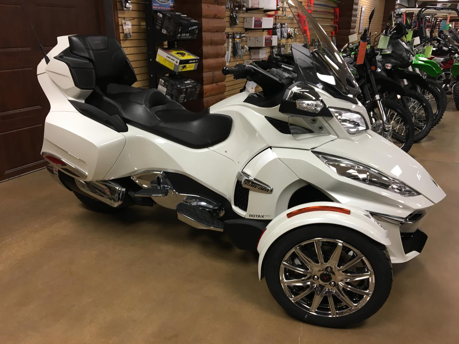 2018 Can Am Spyder RT Limited SE6 Chrome Trim for sale in