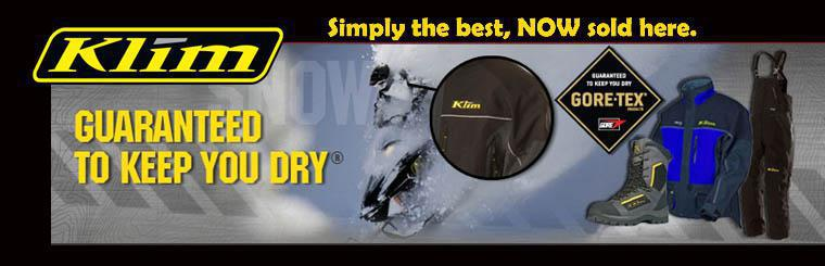 Klim apparrel gloves hats coats boots we also carry HMK castle and cortech