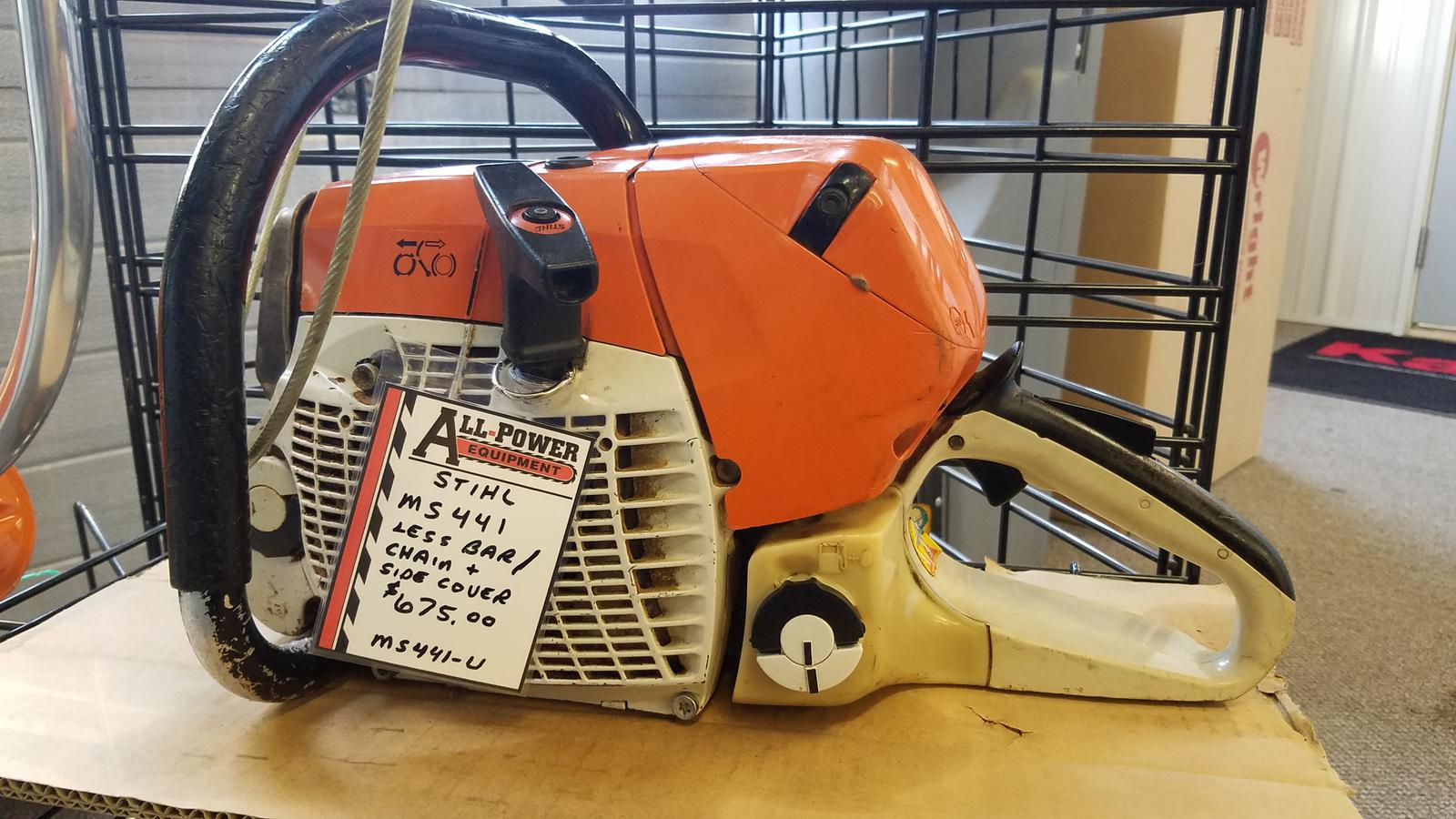 stihl ms441 for sale in kankakee, il. all-power equipment kankakee
