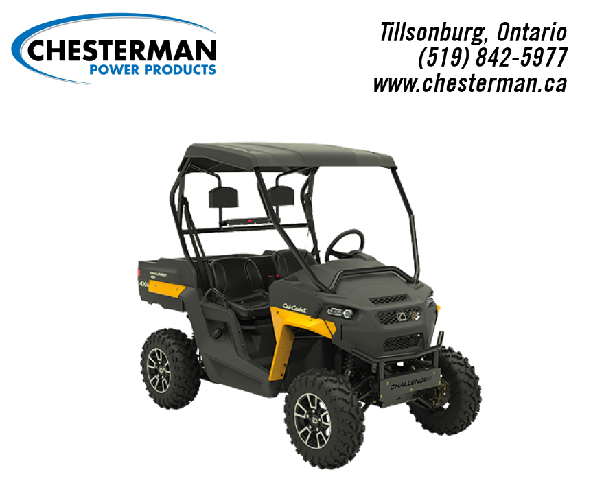 New Inventory from Cub Cadet Chesterman Power Products Tillsonburg