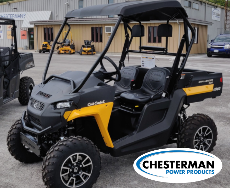 New Inventory from Cub Cadet Chesterman Power Products