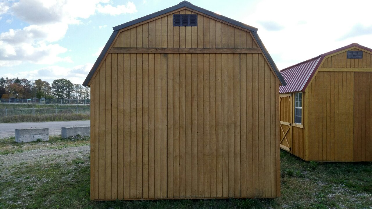 quaker lap and amish with lp slmond avocado shed merteck siding storage deluxe trim outdoor sheds