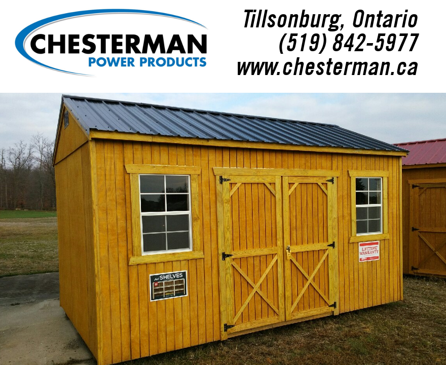 2017 Old Hickory Building Utility Shed