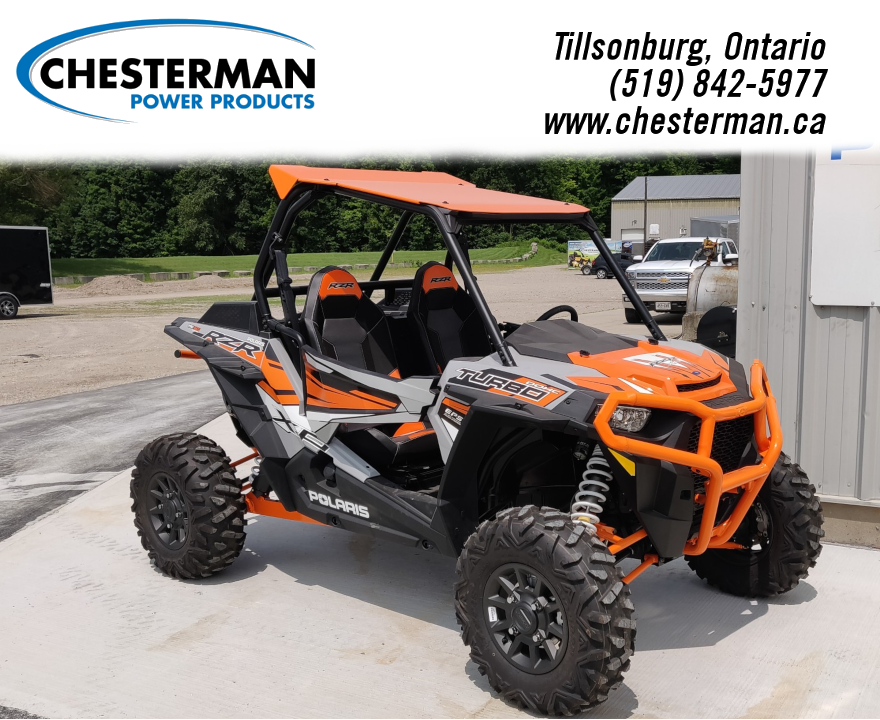 New Side x Side from Polaris Industries Chesterman Power Products